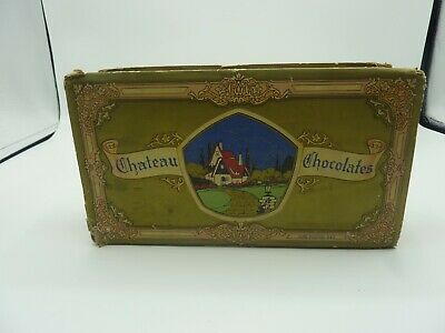 $ CDN60.45 • Buy Vintage Chateau Chocolates Candy Box Empty Very Rare 1960s/70s? ST Louis Mo