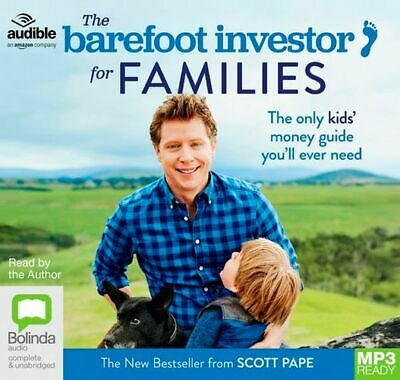 AU31.90 • Buy NEW The Barefoot Investor For Families : The Only Kids' Money Guide You'll Ever