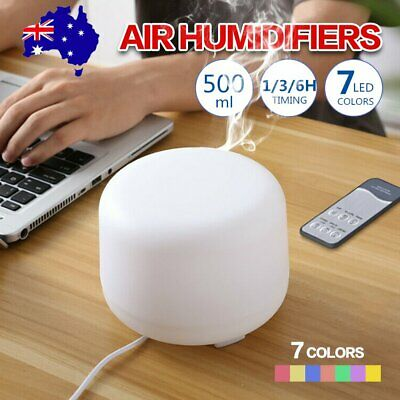 AU27.09 • Buy LED Aroma Diffuser Essential Oil Ultrasonic Air Aromatherapy Humidifier 500ml