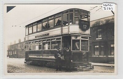 £15 • Buy SALFORD   Corporation TRAM  No 341 At Peel Green  With Crew  RP