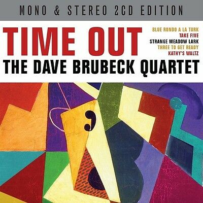 THE DAVE BRUBECK QUARTET - TIME OUT - Mono & Stereo Versions (NEW SEALED 2CD) • 4.39£