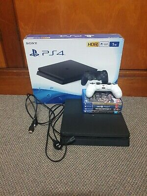 AU350 • Buy PS4 PlayStation 4 Slim 1TB Boxed (Very Good Condition)
