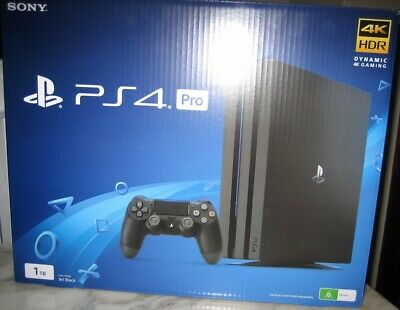 AU990 • Buy SONY PlayStation 4 PRO Firmware 5.05 PS4 - Brand New - Boxed - Complete