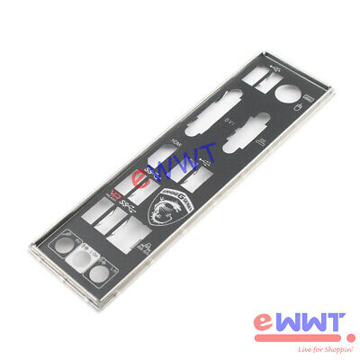 AU9.52 • Buy For MSI B350M Bazooka AM4 MotherBoard IO Shield Back Panel Blende Cover BVOP116