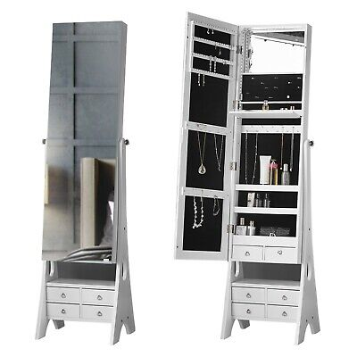Mirror Jewellery Cabinet With Lights 30 0 Dealsan