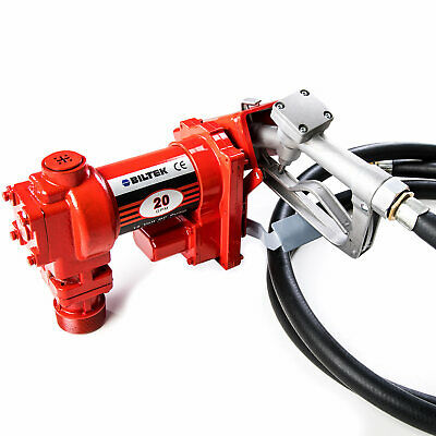 $187.99 • Buy Heavy Duty Fuel Transfer Pumps With Gas Pump Nozzle, High Flow 20 GPM, 12V DC