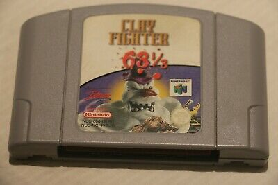 AU27.95 • Buy Nintendo 64 Game N64 - CLAY FIGHTER 63 1/3 - Great Game Nice Condition