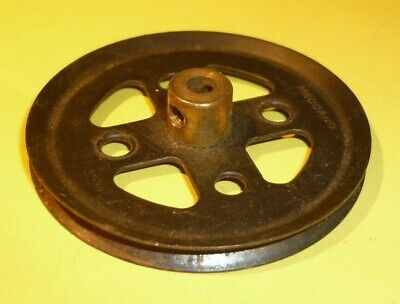Meccano 2 Inch Black Pulley, Part 20a • 1.25£