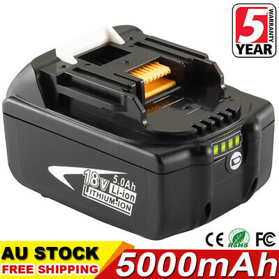 AU42.99 • Buy For Makita 18V 5.0AH LXT Lithium Ion Battery Replaces BL1860B BL1830 BL1850 Tool