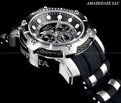 View Details NEW Invicta Men's 50mm Bolt Chronograph BLACK DIAL Stainless Steel 100M Watch !! • 84.08£