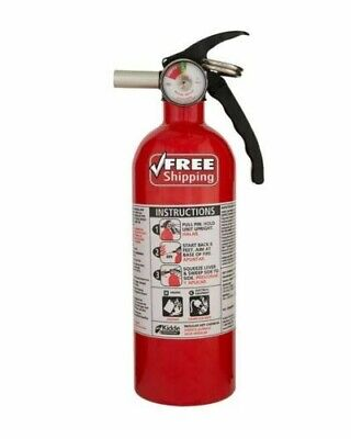 $19.89 • Buy KIDDE FIRE EXTINGUISHER Home Car Safety Dry Chemical Garage Kitchen 5 B:C Rated
