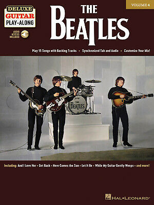 £14.70 • Buy The Beatles - Deluxe Guitar Play-Along Volume 4 Play 15 Songs With Backing Track