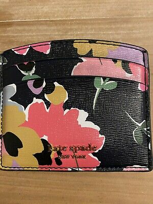 AU20 • Buy Kate Spade Floral Card Holder In Very Good Condtion