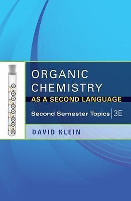$13.93 • Buy Organic Chemistry As A Second Language: Second Semester Topics