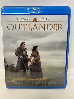 AU22.17 • Buy Outlander Season 4 Blu-ray Brave New World New