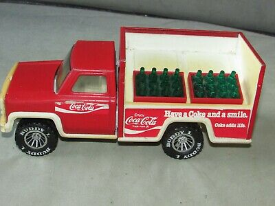 £20 • Buy *LOOK* Superb BUDDY L Coca Cola DieCast Delivery Truck With Drinks Crates (1979)