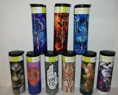 AU39.99 • Buy Travel Mug Cup Drink Bottle Hot Cold Insulated Stainless Thermos Coffee Dragon
