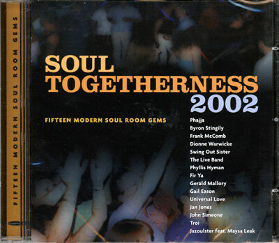 Soul Togetherness 2002   15 Modern Soul Room Gems   Cd • 12.99£