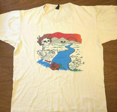$ CDN28.27 • Buy Vintage  Grateful Dead T-shirt Ripple 80s Band F460