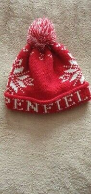 Mens,  Penfield Bobble Hat,Red/White,One Size • 18£