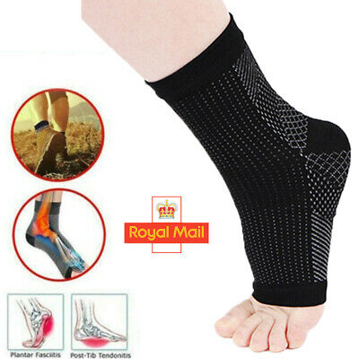 2X Plantar Fasciitis Compression Socks Heel Foot Arch Pain Relief Support Pair C • 3.49£