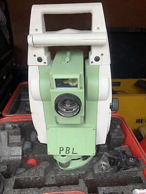£9000 • Buy Leica Ts12 P 3  R400 Robotic Total Station Cs15 Controller Rh16 For Surveying