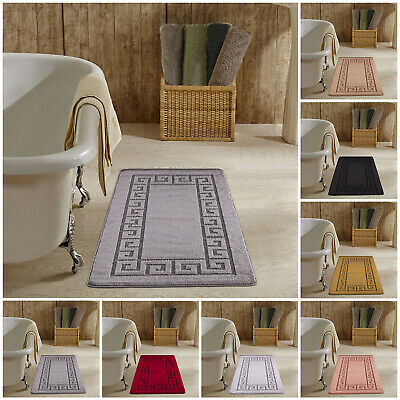 Large Non Slip Bath Mat Thick Fluffy Rugs Runners Bathroom Shower Mats  • 9.99£