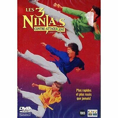 $ CDN12.82 • Buy 3 Ninja's - Kick Back - Dutch Import (UK IMPORT) DVD [REGION 2] NEW