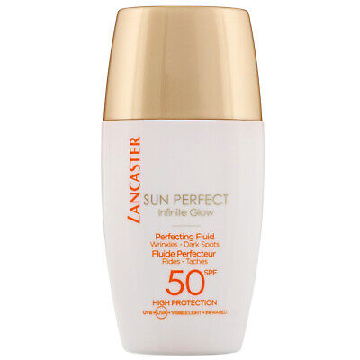 Lancaster Sun Perfect Infinite Glow Perfecting Fluid SPF50 30ml • 18.10£