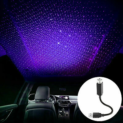 $8.99 • Buy USB Car Accessories Interior Atmosphere Star Sky Lamp Ambient Star Night Lights