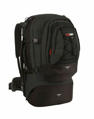 AU169.95 • Buy Black Wolf Cancun 80L Travel Backpack & Detachable Daypack - Black