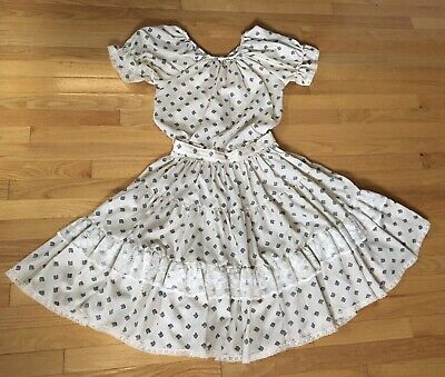 $24.75 • Buy Vintage Rockmount Ranch Wear 2 Piece Full Circle Skirt & Blouse Square Dance