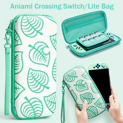 AU26.99 • Buy Animal Crossing Carrying Case Bag Console Card Storage For Nintendo Switch /Lite