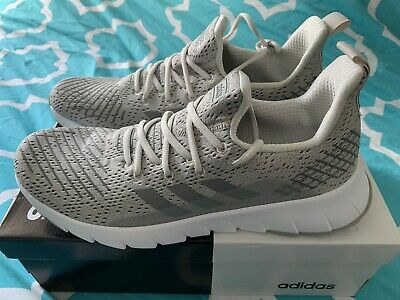 AU79 • Buy Adidas Asweego Run Mens Grey White Shoes F37040 - US Mens 10 Brands NEW