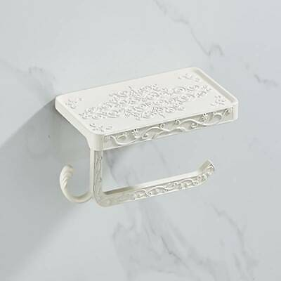 AU15.67 • Buy Toilet Roll Holder Tissue Stand Paper Storage Dispenser Wall Mounted Bathroom BB