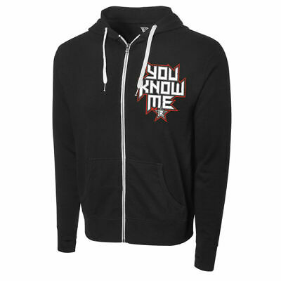 """Wwe Edge """"you Know Me"""" Full-zip Hoodie Sweatshirt Official All Sizes New • 59.99£"""