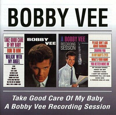 $15.78 • Buy Bobby Vee - Take Good Care Of My Baby / Recording Session [New CD]