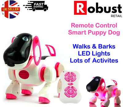 RR I-Robot Remote Control Puppy Dog Interactive Electronic Activity Kid Toy Pink • 18.99£