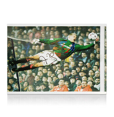 Peter Schmeichel Signed Manchester United Photo - Save Autograph • 95.99£