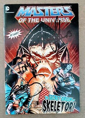 $18 • Buy SDCC 2014 MASTERS OF THE UNIVERSE The Secret Origin Of Skeletor Sign Comic Book