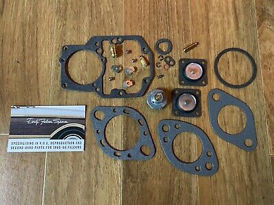 AU77.95 • Buy New Complete Ford Falcon XK XL XM XP 1BBL Carburetor Rebuild Kit Autolite