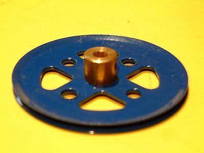 Blue Meccano 2 Inch Pulley, Part 20a   • 1.25£