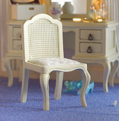 1/12 Scale Dolls House Emporium French Style Cream Dressing Table Chair 5691 • 14.95£