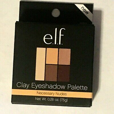 $9.99 • Buy Elf E.l.f Clay Eyeshadow Palette Necessary Nudes With Mirror 81291 New