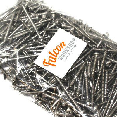 £7.99 • Buy Massive Mixed Selection Of A2 Stainless Steel Pozi Csk + Pozi Pan Wood Screws
