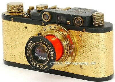 Zorki I Soviet 35mm Rangefinder Camera Made Into A Collectable LEICA II ( Copy ) • 197.12£