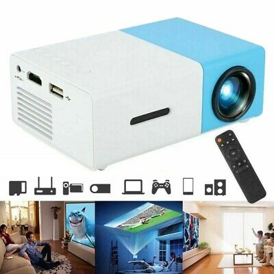 AU66.99 • Buy YG300-Mini Pocket LED 3D Projector HD 1080P Home Theater Cinema USB HDMI SD
