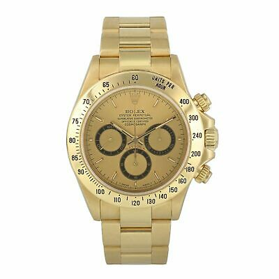 $ CDN38679.46 • Buy Rolex Zenith Daytona 16528 Yellow Gold Mens Watch
