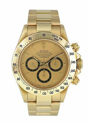 $ CDN39496.66 • Buy Rolex Zenith Daytona 16528 Inverted 6 Yellow Gold Mens Watch