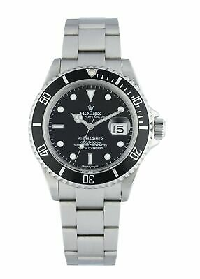 $ CDN11357.21 • Buy Rolex Submariner 16610 Engraved Rehaut Men's Watch